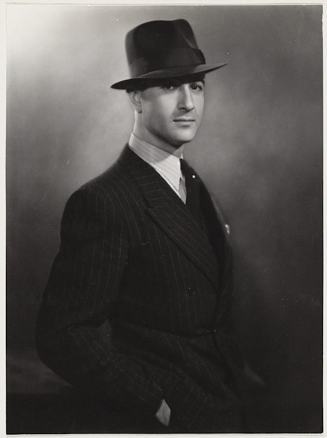 Musicus Hans Mossel 1937